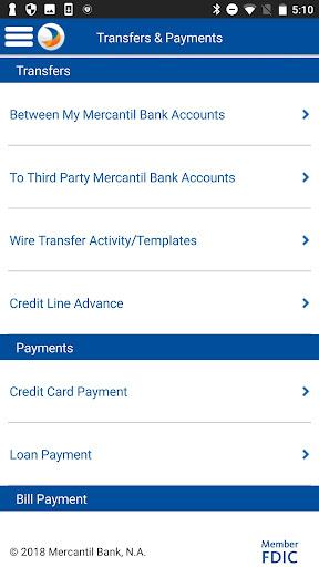Mercantil Mobile  screenshots 4