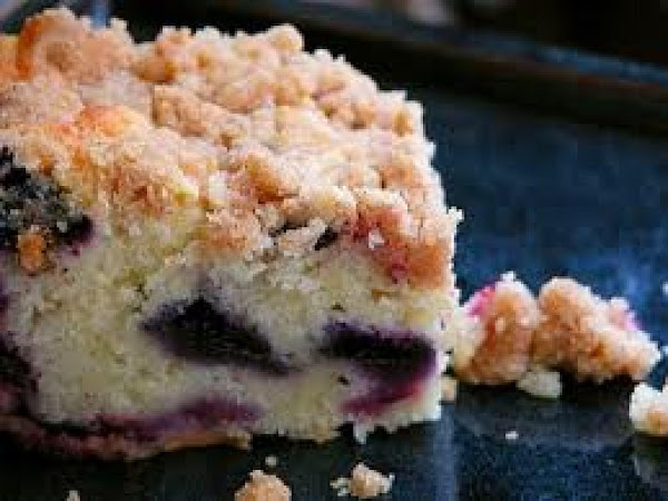 Blueberry Sour Cream Coffee Cake Recipe
