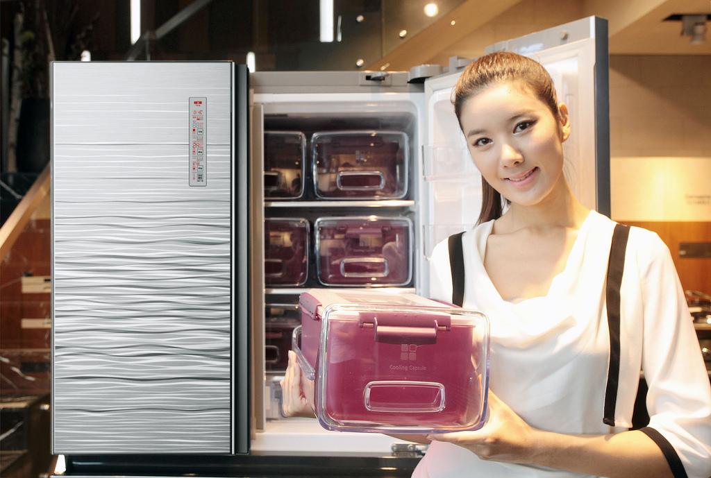 kimchi fridge