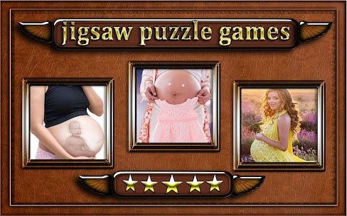 pregnant woman belly Jigsaw Puzzle game 6