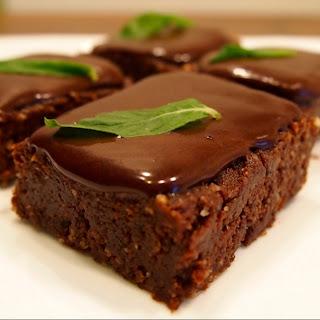 Vegan Chocolate Mint Slice