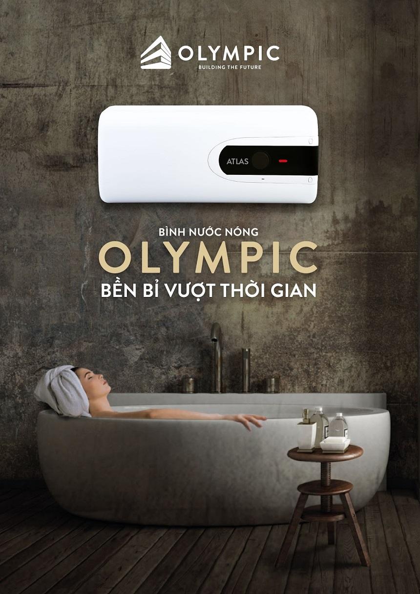 Độ bền vượt trội của bình nóng lạnh Olympic