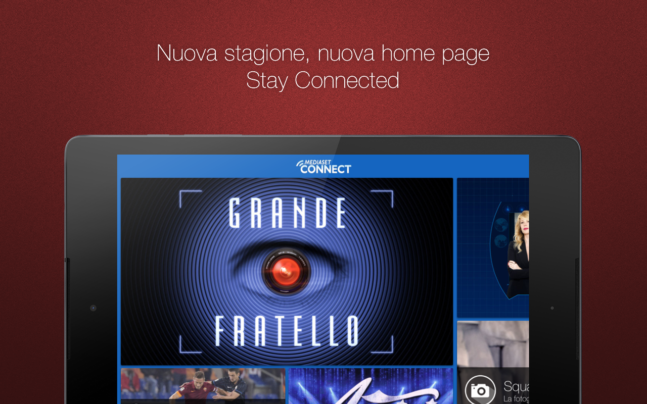 Mediaset Connect- screenshot