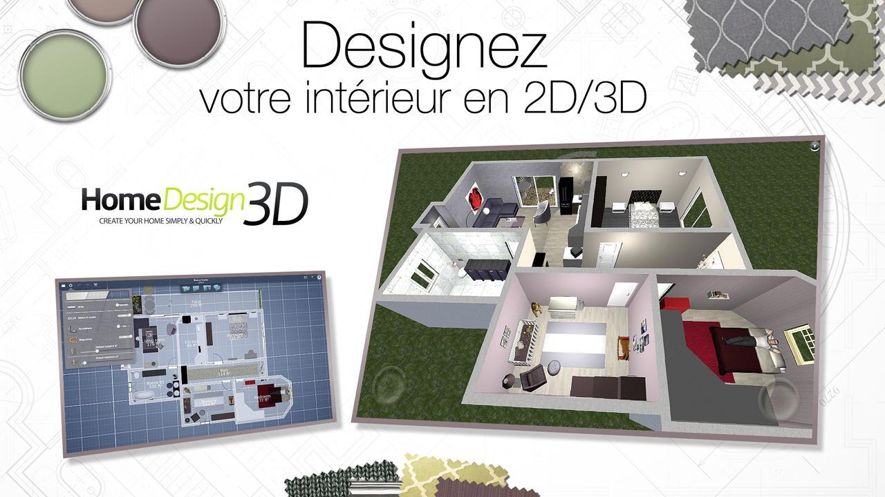 Home design 3d capture décran