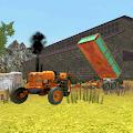Classique Tracteur 3D: Sable Transport