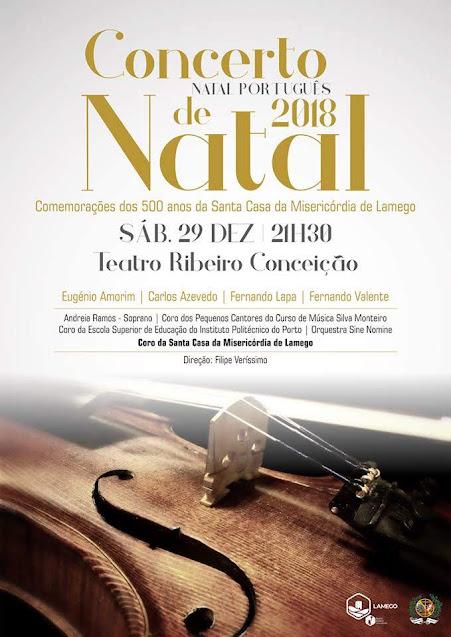 """Misericórdia de Lamego oferece """"Natal Português"""" no palco do Teatro Ribeiro Conceição"""