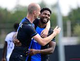 Michael Krmencik en Emmanuel Dennis tankten vertrouwen in de laatste oefenmatch van Club Brugge