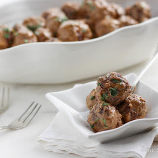 Low Carb Swedish Meatballs.