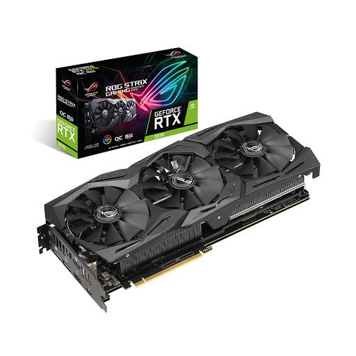 Card màn hình ASUS ROG Strix RTX 2070 OC 8GB GDDR6 (ROG-STRIX-RTX2070-O8G-GAMING)