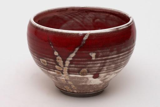 Bruce Chivers Ceramic Raku Tea Bowl 04