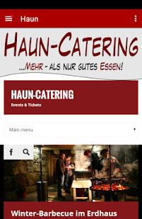 Haun-Catering – Miniaturansicht des Screenshots