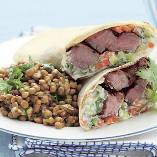 Tandoori Lamb Wrap