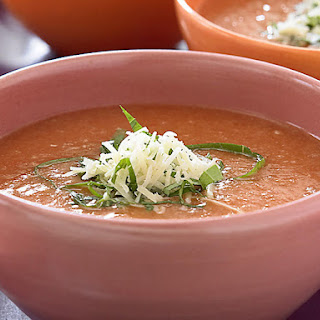 Bread and Tomato Soup with Basil.