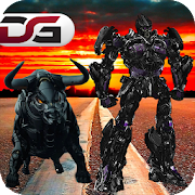 Bull Robot Warrior vs Transform Robots 2018 1.0