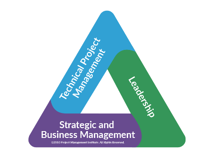 Image result for pmi talent triangle