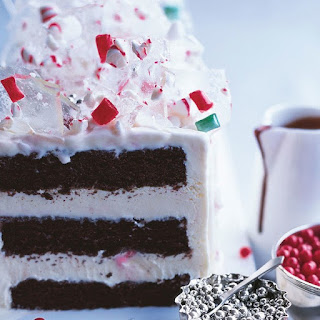 Peppermint Ice Cream Candyland Cake