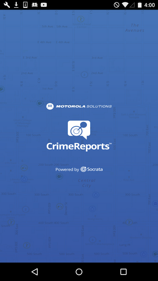 CrimeReports by Motorola- screenshot