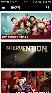 A&E - Watch Full Episodes of TV Shows- screenshot thumbnail