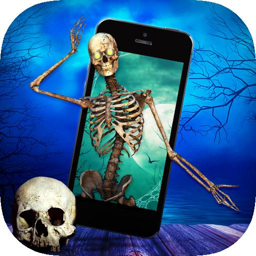 Skeleton in Phone Prank (app)
