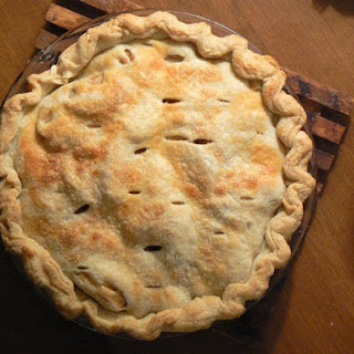 Maple and Cheddar Apple Pie