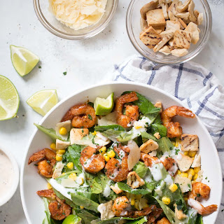 Southwestern Shrimp Caesar Salad.