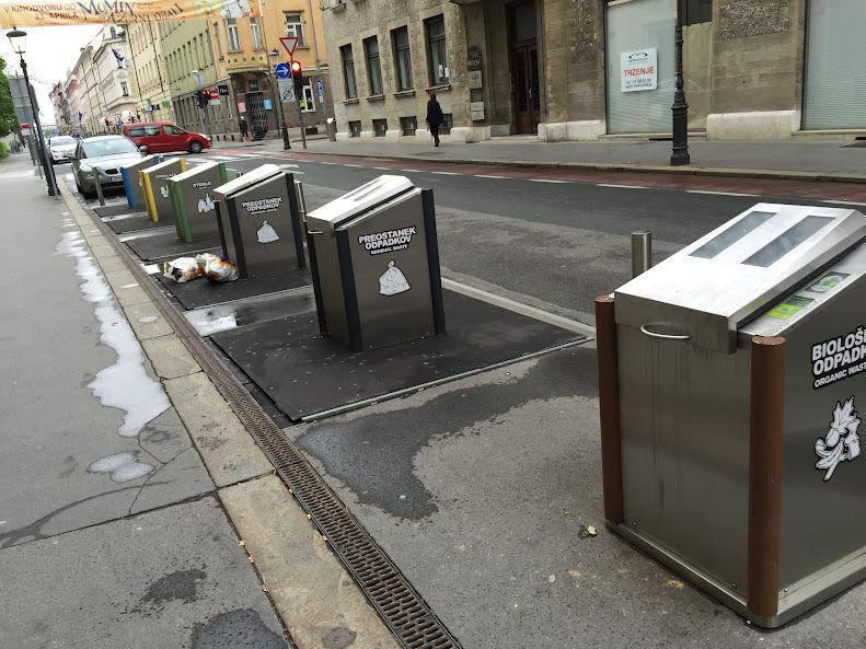 リュブリャナ ゴミ箱