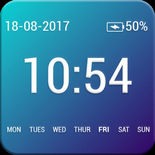 Always on Clock Lockscreen - Double tap Screen On