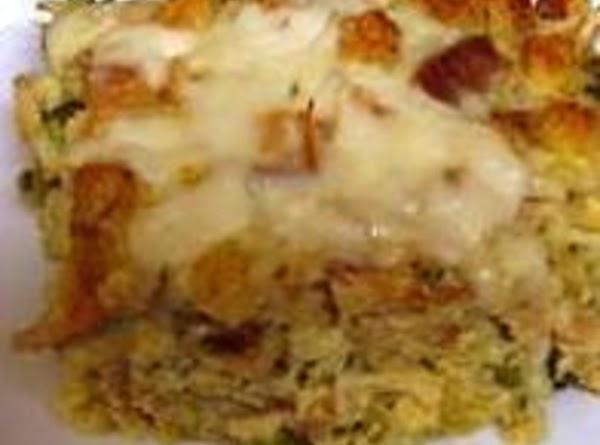 Leftover Turkey Or Chicken Casserole, Mom's Recipe