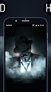 HD Anonymous Hackers Wallpaper - 2018 - náhled