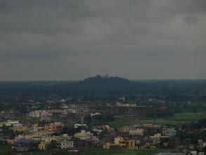 Photo: Dhaulgiri ( place of Ashoka's self-realization) in hills and the city