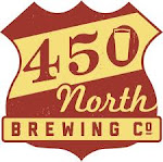 Logo for 450 North Brewing