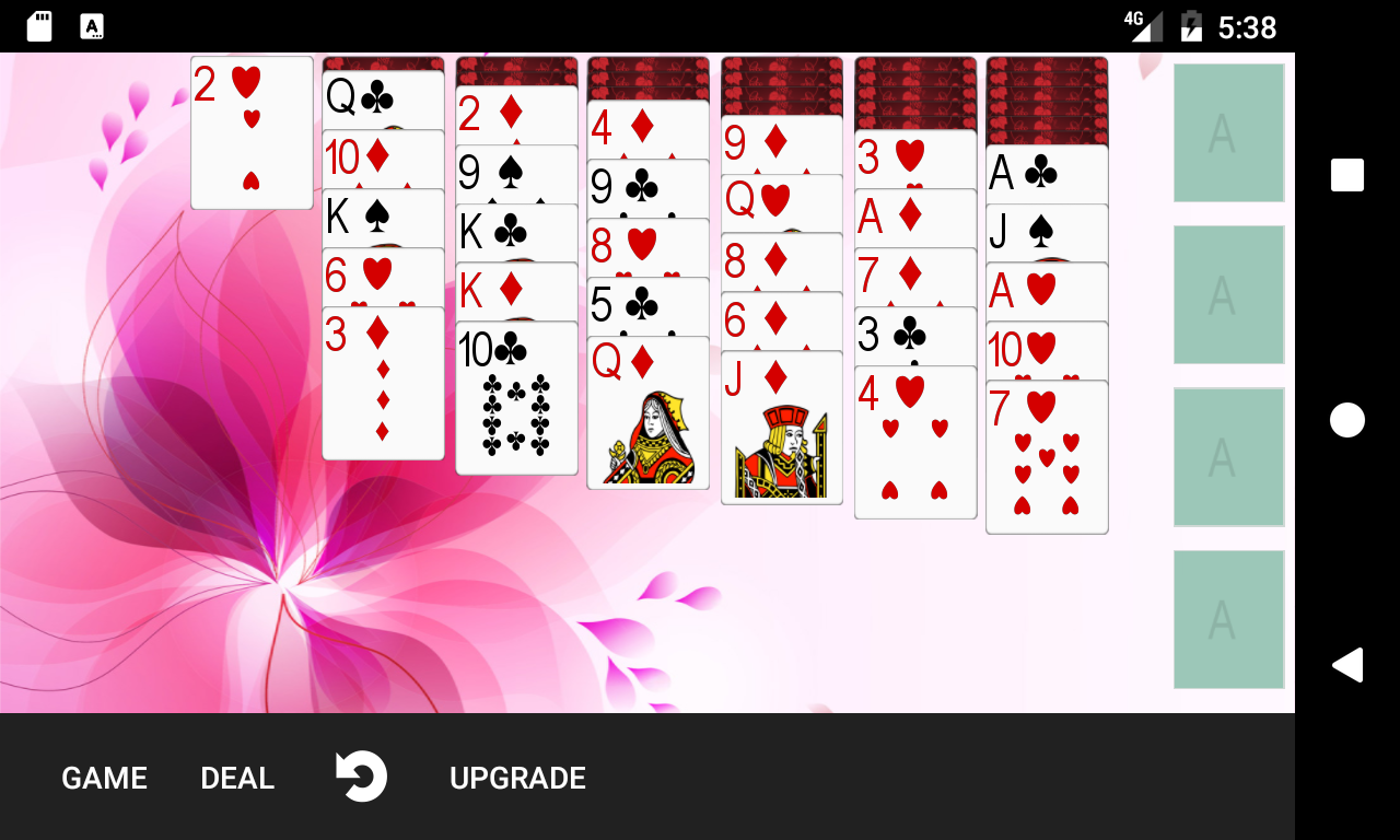 5 Free Solitaire Games- screenshot