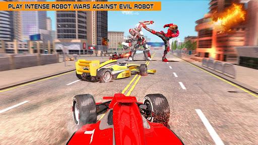 Cheetah Robot Car Transformation Formula Car Robot filehippodl screenshot 8
