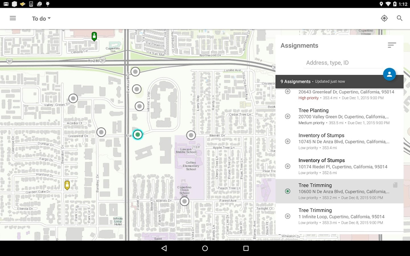 Workforce for ArcGIS- screenshot