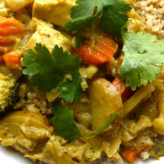 Simple Chicken Coconut Curry.