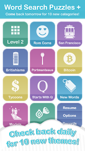 Word Search Puzzles + Free- screenshot thumbnail