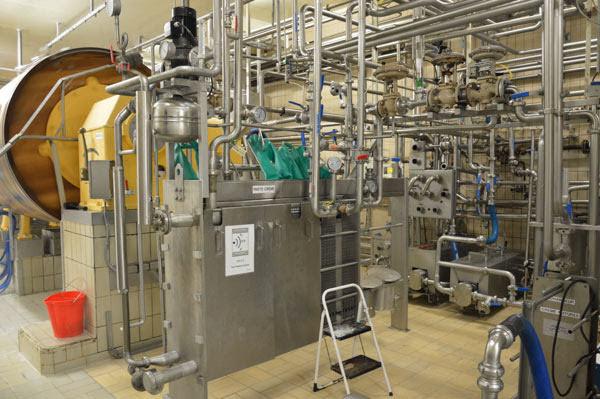 エシレバター製造工程1殺菌