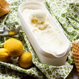 No Churn Lemon Ice Cream.