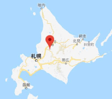 地図:スタープラザ芦別