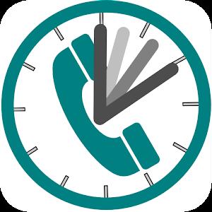 通話時間タイマー(かけ放題プランの通話時間の監視等に)
