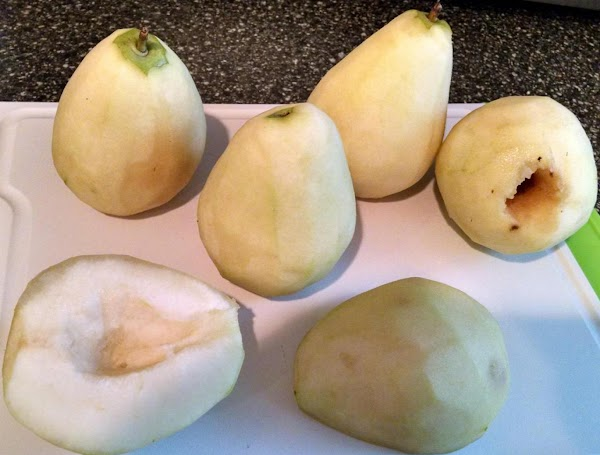 skin the pairs. There are two ways to process and cook the pairs at...