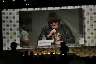 Photo: Saturday - Django Unchained panel; Quentin Tarantino