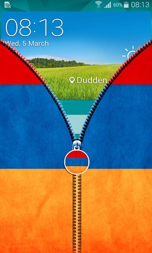 玩免費工具APP|下載Armenia Flag Zipper UnLock app不用錢|硬是要APP