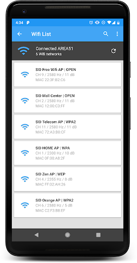 WIFI PASSWORD PRO 5.8.0 screenshots 1