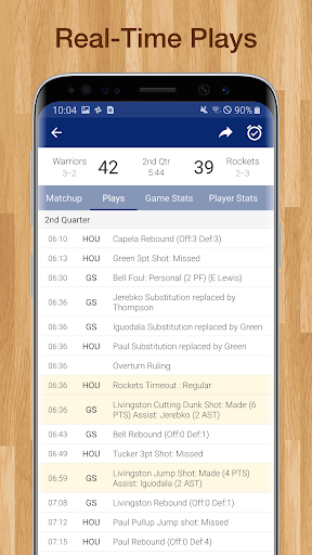 Basketball NBA Live Scores, Stats, & Schedules 9.0.8 screenshots 2