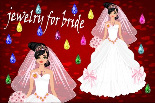 花嫁のためのジュエリー