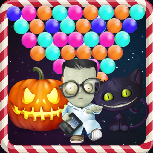 Crazy Halloween Bubble Mania