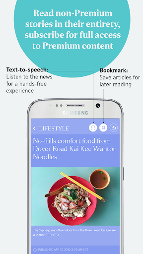 The Straits Times for Smartphone 7.2.3 Screenshots 3