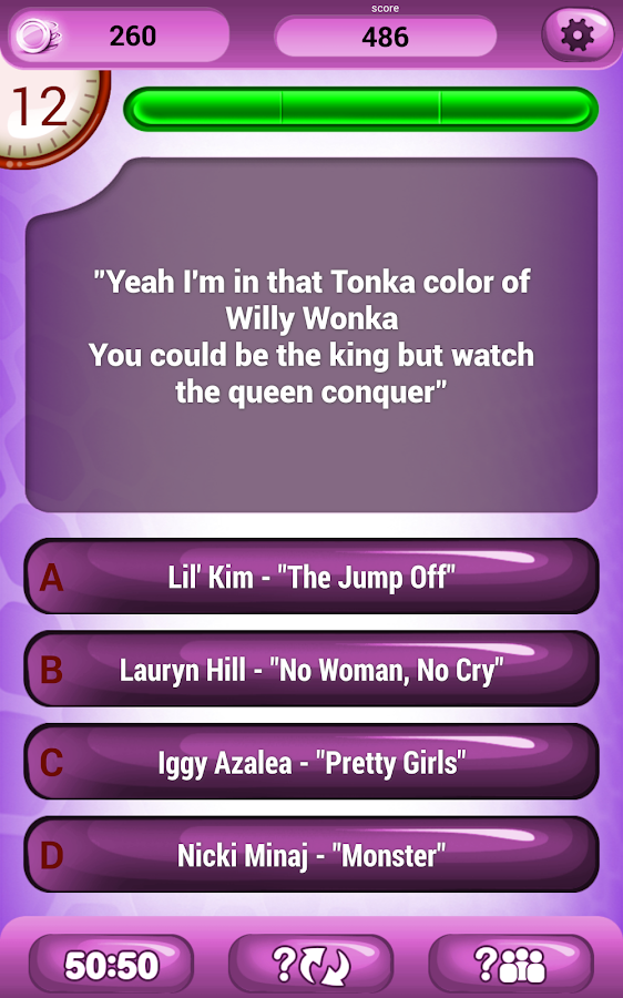 Lyric color purple lyrics : Guess The Lyrics Hip Hop Quiz - Android Apps on Google Play