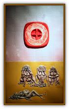 Photo: Antonio Berni Mujeres en la playa 1972. Xilo-collage-relieve. Matriz xilográfica: 86 x 51,5 cm. Estampa: 95 x 60 cm. Colección particular, Buenos Aires. Expo: Antonio Berni. Juanito y Ramona (MALBA 2014-2015)